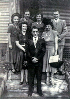 Sept 4, 1948 - Siblings and spouses going Ester and Jims Allans wedding